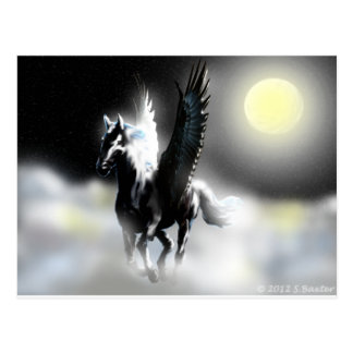Pegasus of the Moon Postcard