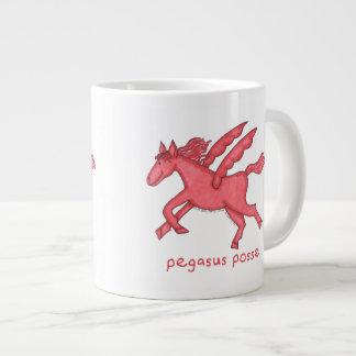 Pegasus Posse Large Coffee Mug