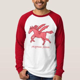 Pegasus Posse Men's Long-Sleeve Raglan T-Shirt