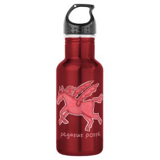 Pegasus Posse Water Bottle (Red)