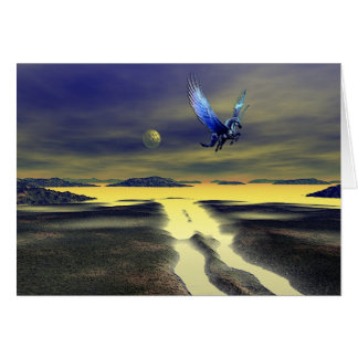 Pegasus Rising Card