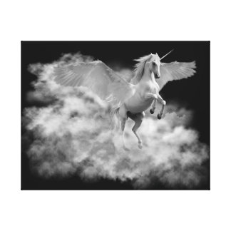 Pegasus. The Dawn Flight. Canvas Print