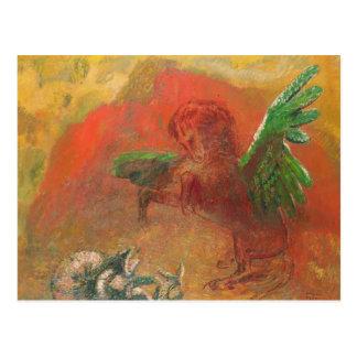 Pegasus Triumphant Postcard