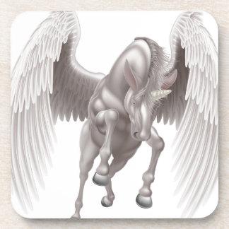 Pegasus Unicorn Winged Horned Horse Coaster