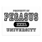 Pegasus University Postcard