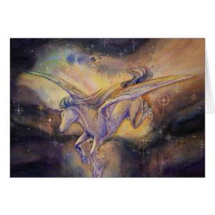 Pegasus With Nebula