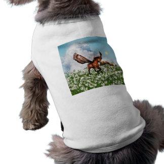 Pegasys in a Field Pet Shirt