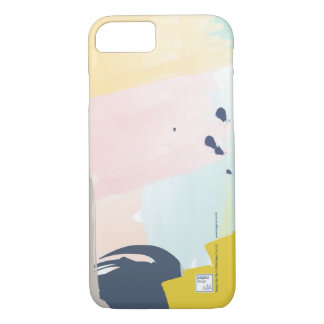 Pegeo Modern Pastel Watercolour iPhone 7 Case