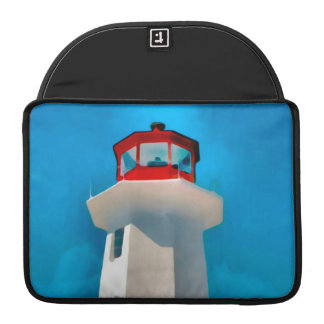 Peggy's Cove Lighthouse Sleeve For MacBook Pro