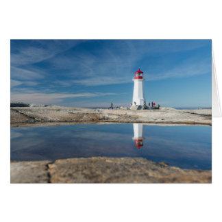 Peggy'S Cove Lighthouse | Canada Card