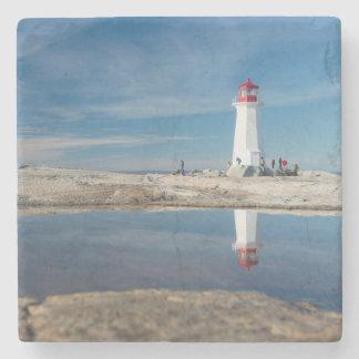Peggy'S Cove Lighthouse   Canada Stone Coaster