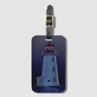 Peggy's Cove  Lighthouse Nova Scotia luggage tag