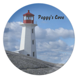Peggy's Cove Lighthouse Plate