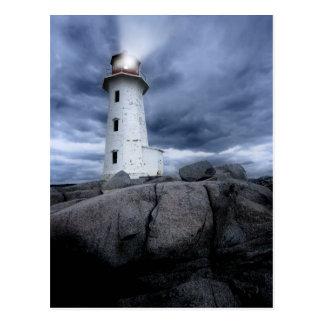 Peggy's Cove lighthouse Postcard