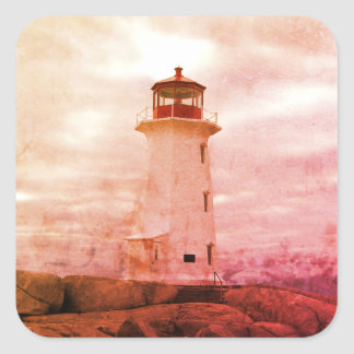 Peggy's Cove  Lighthouse Route Nova Scotia Sticker