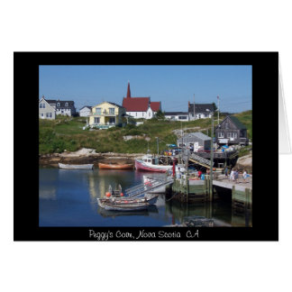 Peggy's Cove, Nova Scotia CA Card