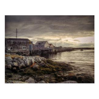 Peggys Cove Nova Scotia Canada Postcard