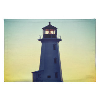 Peggy's Cove Nova Scotia Lighthouse place mat