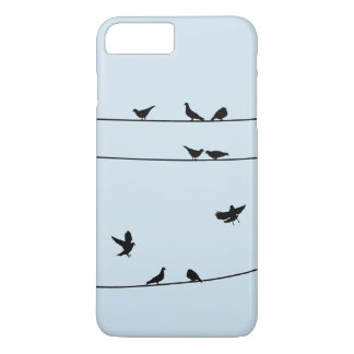 Pegions on the Wire Phone Case
