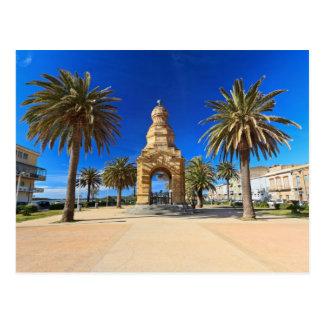 Pegli Square in Carloforte Postcard