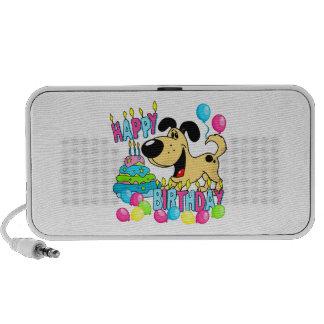 PEGUI Pups Happy Birthday - Hoots Notebook Speaker