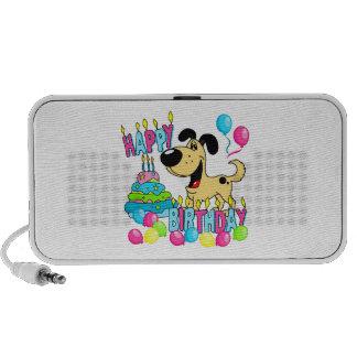 PEGUI Pups Happy Birthday - Hoots Travel Speaker