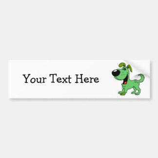 PEGUI Pups - Leaf Bumper Sticker