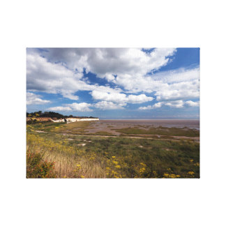 Pegwell Bay Nature Reserve Gallery Wrapped Canvas