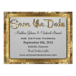 Peiffer   Formal Save the Date Postcard