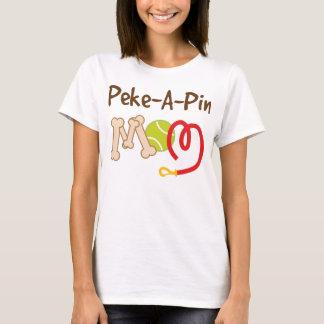 Peke a Pin Dog Breed Mom Gift T-Shirt