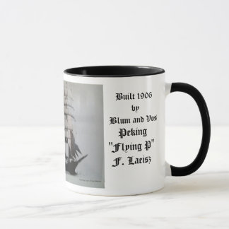 """Peking """"Flying P"""" F. Laeisz Mug"""