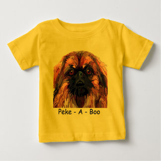 Pekingese  Bright Colors Infant Wear Baby T-Shirt