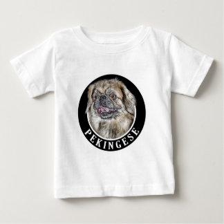 Pekingese Dog 002 Baby T-Shirt