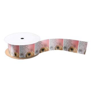 Pekingese Dog -  Nan Poem Satin Ribbon