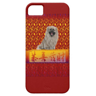 Pekingese Dog on Happy Chinese New Year Barely There iPhone 5 Case