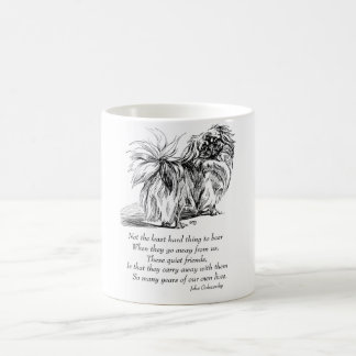 Pekingese Dog Rainbow Bridge Coffee Mug