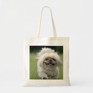 Pekingese dog tote bag, gift idea