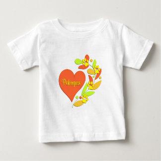 Pekingese Heart Baby T-Shirt
