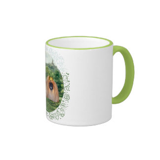 Pekingese King & Queen with Dream Castle Coffee Mug