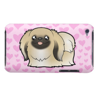 Pekingese Love (show cut) Barely There iPod Cases