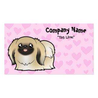 Pekingese Love (show cut) Pack Of Standard Business Cards