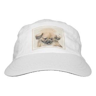 Pekingese Painting - Cute Original Dog Art Hat