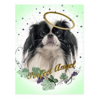 Pekingese Perfect Angel Postcard