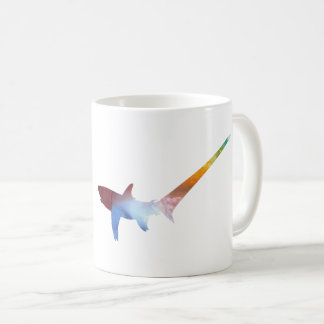 Pelagic thresher coffee mug