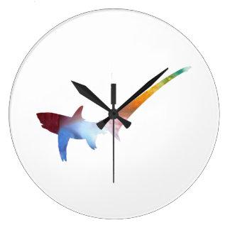 Pelagic thresher large clock