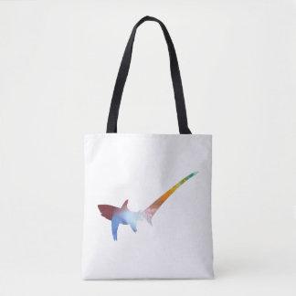 Pelagic thresher tote bag