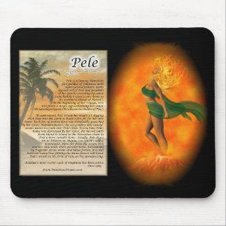 Pele - Hawaiian Goddess of Fire Mousepad