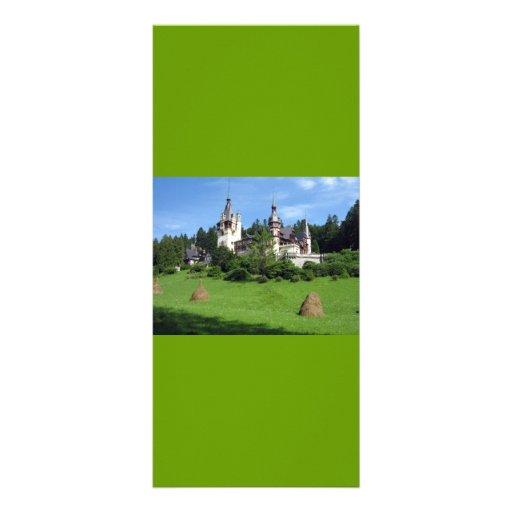 Peles-castle SCENIC WONDERS PELES CASTLES ARCHITEC Rack Cards