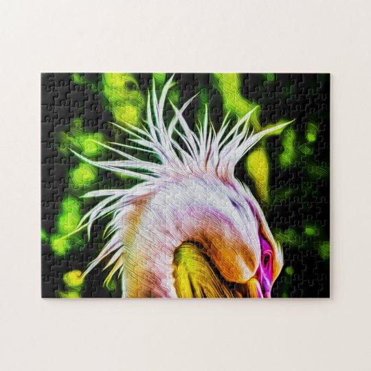 Pelican 01 Digital Art - Photo Puzzle