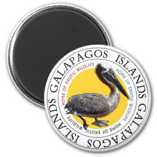 Pelican 6 Cm Round Magnet